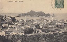 Thematiques Tunisie Tabarka Vue Générale Ecrite Timbrée 04 09 1910 Cachet BM - Tunisia