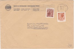 Busta Viaggiata. - 6. 1946-.. Repubblica