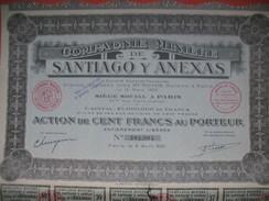 Compagnie Minière De Santiago Y Anexas   N°381 084 - Mines