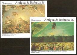 Antigua & Barbuda 1992 Yvertn° Bloc 226 Et 235 *** MNH Cote 14,00 Euro Granada '92 Grenade - Antigua Et Barbuda (1981-...)