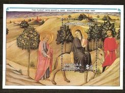Antigua & Barbuda 1987 Yvertn° Bloc 131 *** MNH Cote 5,00 Euro Noël Kerstmis Christmas - Antigua Et Barbuda (1981-...)