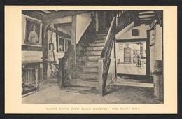 John Nashs House The Front Hall ENGLAND Unused C1920s STK#94055 - Stratford Upon Avon