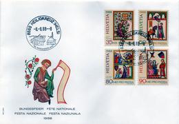 B - Svizzera 1988 - Festa Nazionale - Pro Patria