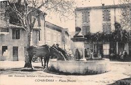 04 - Corbières - Place Neuve - Les Chevaux à L'abreuvoir - Otros Municipios