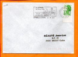 CHARENTE-MME, St Pierre D'Oléron, Flamme SCOTEM N° 10086, La Cotinière, Phare - Marcophilie (Lettres)