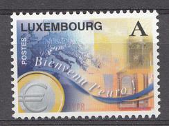 Luxembourg 1999 Mi.Nr: 1469 Einführung Des Euro  NEUF Sans CHARNIERE / MNH / POSTFRIS - Ongebruikt