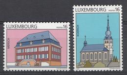 Luxembourg 1997 Mi.Nr: 1414-1415 Sehenswürdigkeiten  NEUF Sans CHARNIERE / MNH / POSTFRIS - Luxemburg