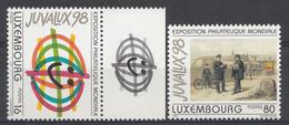Luxembourg 1997 Mi.Nr: 1423-1424 Briefmarkenausstellung  NEUF Sans CHARNIERE / MNH / POSTFRIS - Luxemburg