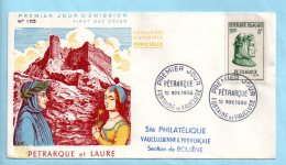 Pétrarque - Fontaine De Vaucluse - 10/11/1956; (39333) - 1950-1959