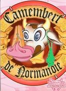 Magnet CAMEMBERT DE NORMANDIE - Humour