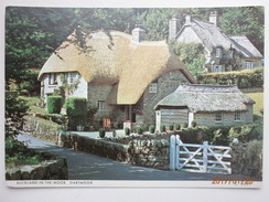 Postcard Buckland In The Moor Dartmoor Devon My Ref B2121 - England