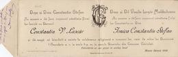 Constantin V. Lascar Et Jonica Constantin Stefan - Verloving
