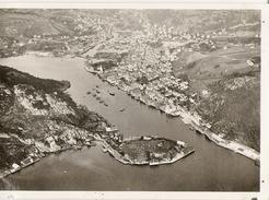 EGERSUND NORVEGE  Vue Prise De Zeppelin 1930 - Old Paper