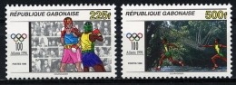 Gabon, 1996, Olympic Summer Games Atlanta, Boxing, Relay, Running, MNH, Michel 1298-1299