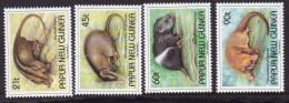 Papua New Guinea 1993 Mammals Sc 798-801 Mint Never Hinged - Papua-Neuguinea