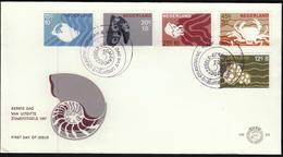 Netherlands 1967 / Sea Animals, Whelk, Mussels, Jellyfish, Crabs - Maritiem Leven