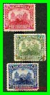 NICARAGUA  3 SELLOS  AÑO 1914-1939 - Nicaragua