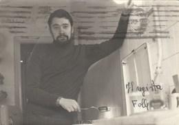 5877.   Foto Marcello Serrallonga - Regista - 1962 - Roma - Persone Identificate