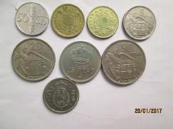 SPAIN 8 Coins # L 1 - [ 5] 1949-… : Kingdom
