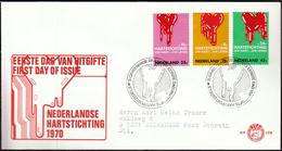 Netherlands 1970 / Fight Against Heart Disease - Disease