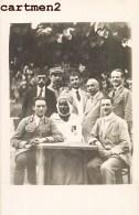 CARTE PHOTO : ALGERIE REGIMENT MILITAIRE SPAHIS SOLDATS FRANCAIS ZOUAVE MILITAIRE UNIFORME ZOUAVES GUERRE - Regiments