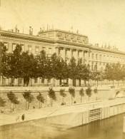 France Paris Hotel De La Monnaie Ancienne Photo Stereo 1870 - Stereoscopic