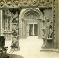 France Paris Musée Du Trocadero Salle H Ancienne Photo Stereo SIP 1900 - Stereoscopic