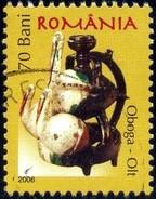 Pottery, Oboga, Olt, Romania Stamp SC#4807 Used