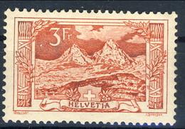 Svizzera 1916-22 N. 167 C. 3 Rosso, Ben Centrato MVLH Cat. € 140 - Svizzera