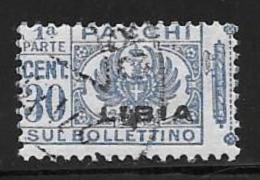 Libya, Scott # Q16 Part1 Used Parcel Post, 1929 - Libya