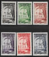Libya, Fezzan, Scott # 2NJ1-6 Mint Hinged Postage Due, 1950 - Unused Stamps