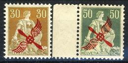 Svizzera Posta Aerea 1919-20 Serie N. A1-A2 MNH LUX*** Cat. 650 - Poste Aérienne