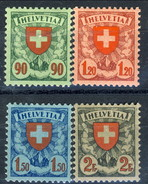 Svizzera 1924 Serie N. 208-211 MLH Cat. € 180 - Svizzera