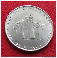 Turkey 50 Lira 1977 FAO F.a.o. - Turquia