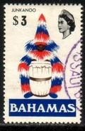 """Junka-noo"", Costumed Drummer, Bahamas Stamp SC#330 Used - Bahamas (1973-...)"