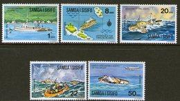 SAMOA, 1975 JOYITA MYSTERY 5 MNH - Samoa