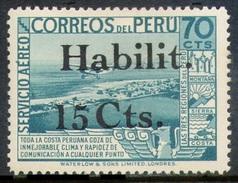PERU-Yv. Aº 31-MLH -PER-7035 - Pérou