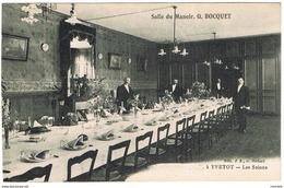 CPA Salle Du Manoir. Gaston Bocquet à Yvetot - Les Salons - Yvetot