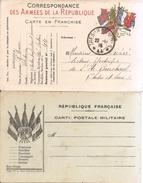 Deux Cp Militaire - Guerre De 1914-18