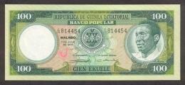 EQUATORIAL GUINEA P.  6 100 E 1975 UNC - Guinée Equatoriale
