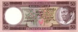 EQUATORIAL GUINEA P.  5 50 E 1975 UNC - Guinée Equatoriale