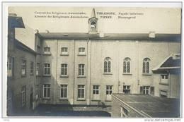 Tienen :  Fotokaart : Klooster Der Religieuzen Annonciaten  :  Binnengevel - Tienen