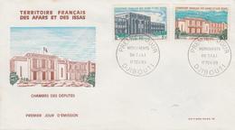 Enveloppe  FDC  1er  Jour  TERRITOIRE  FRANCAIS   Des   AFARS  Et  ISSAS   Edifices  Publics   1969 - Afars Et Issas (1967-1977)