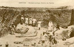 TUNISIE(CARTHAGE) FOUILLES - Tunesië