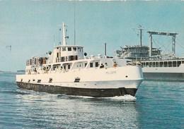 """TOULON - Bateau Le """" MELUSINE """" Transportant Les Marins De SAINT-MANDRIER - Toulon"""