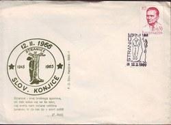 SLOVENIA - STRANICE - HANGING ANTIFASCISTS  - WW2 - SLOV.  KONJICE - 1965 - Slovenia