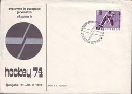 SLOVENIA - World And European Championships In Hockey  - LJUBLJANA - 1974 - Slovenia