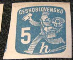 Czechoslovakia 1945 Newspaper 5h - Mint - Newspaper Stamps