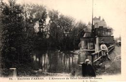ENVIRONS D'ARRAS -62- L'ABREUVOIR DE SAINT NICOLAS LES ARRAS - Arras