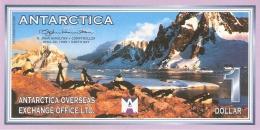 ANTARCTICA   1 Dollar   22/4/1999   D. John Hamilton -  Peterman Island   UNC - Unclassified